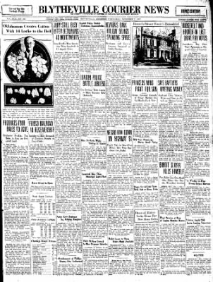 The Courier News from Blytheville, Arkansas on November 2, 1932 · Page 1