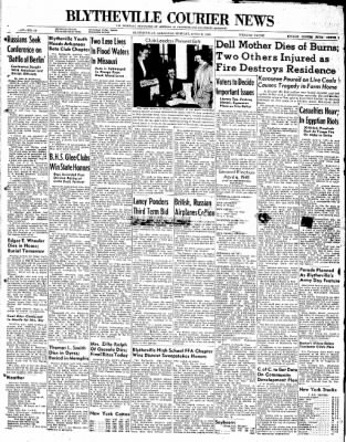 The Courier News from Blytheville, Arkansas on April 5, 1948 · Page 1