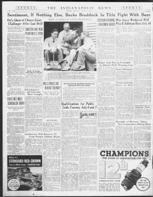 The Indianapolis News From Indianapolis Indiana On June 11 1935 14