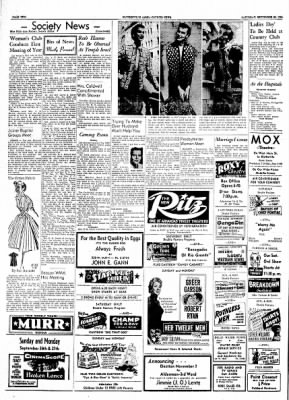 The Courier News from Blytheville, Arkansas on September 25, 1954 · Page 2
