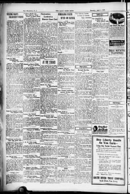 The Central New Jersey Home News from New Brunswick, New Jersey on April 4, 1918 · 4
