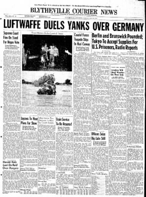 The Courier News from Blytheville, Arkansas on May 8, 1944 · Page 1