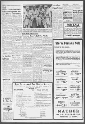 Tampa Bay Times from St. Petersburg, Florida on October 22, 1944 · 10