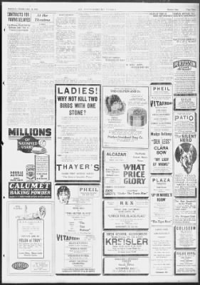Tampa Bay Times from St. Petersburg, Florida on February 10, 1928 · 9