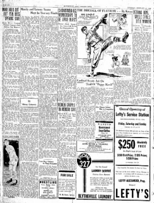 The Courier News from Blytheville, Arkansas on February 27, 1937 · Page 6