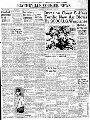 The Courier News from Blytheville, Arkansas on May 9, 1944 · Page 1