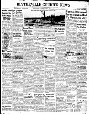 The Courier News from Blytheville, Arkansas on April 6, 1948 · Page 1