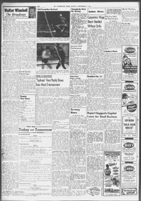 Tampa Bay Times From St Petersburg Florida On September 9 1940 10