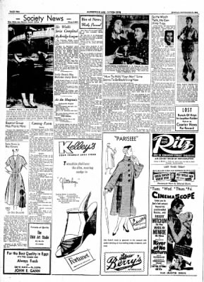 The Courier News from Blytheville, Arkansas on September 27, 1954 · Page 2