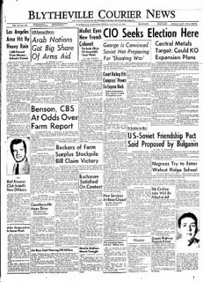 The Courier News from Blytheville, Arkansas on January 27, 1956 · Page 1