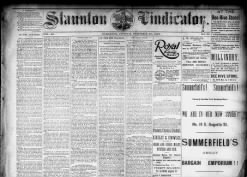Staunton Vindicator