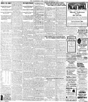 The Washington Post from Washington, District of Columbia on October 30, 1914 · Page 4