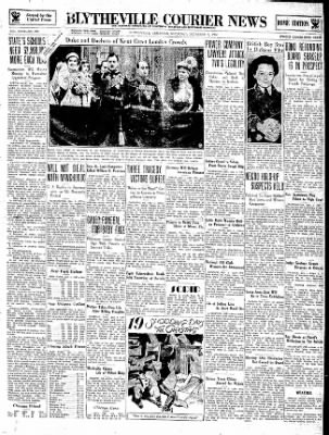 The Courier News from Blytheville, Arkansas on December 1, 1934 · Page 1