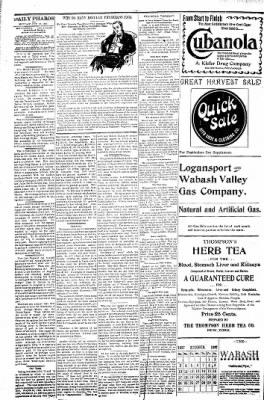 Logansport Pharos-Tribune from Logansport, Indiana on October 25, 1897 · Page 4