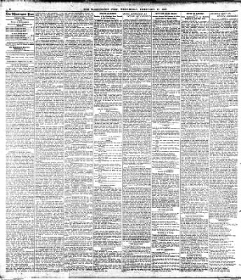 The Washington Post from Washington, District of Columbia on February 13, 1907 · Page 6