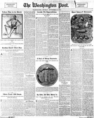 The Washington Post from Washington, District of Columbia on November 3, 1907 · Page 29