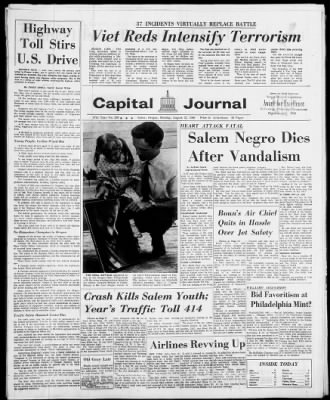 The Capital Journal from Salem, Oregon on August 22, 1966 · 1