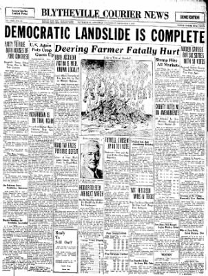 The Courier News from Blytheville, Arkansas on November 9, 1932 · Page 1