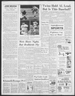 The Capital Journal from Salem, Oregon on August 15, 1967 · 12