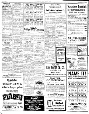 The Courier News from Blytheville, Arkansas on May 16, 1952 · Page 10