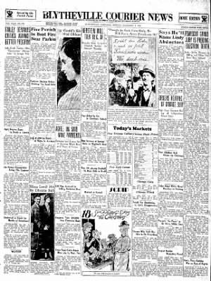 The Courier News from Blytheville, Arkansas on December 3, 1934 · Page 1