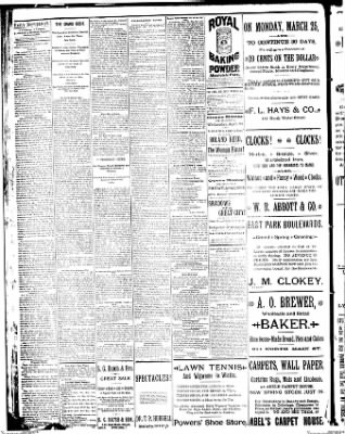 Decatur Daily Republican from Decatur, Illinois on April 23, 1889 · Page 1