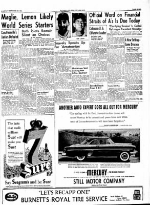 The Courier News from Blytheville, Arkansas on September 28, 1954 · Page 7