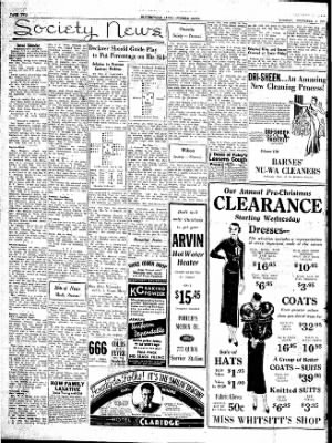 The Courier News from Blytheville, Arkansas on December 4, 1934 · Page 4