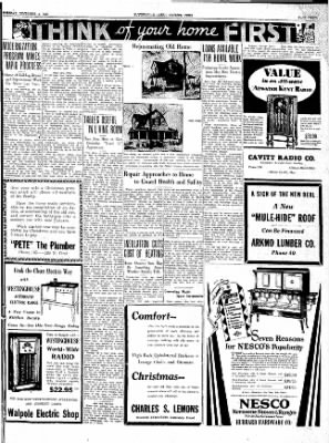 The Courier News from Blytheville, Arkansas on December 4, 1934 · Page 5