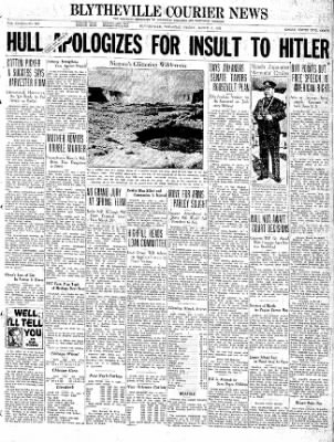 The Courier News from Blytheville, Arkansas on March 5, 1937 · Page 1