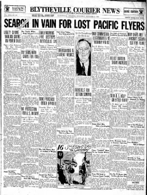 The Courier News from Blytheville, Arkansas on December 5, 1934 · Page 1