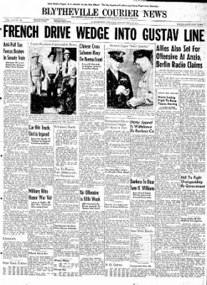 The Courier News from Blytheville, Arkansas on May 15, 1944 · Page 1