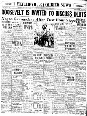 The Courier News from Blytheville, Arkansas on November 14, 1932 · Page 1