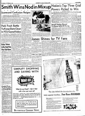 The Courier News from Blytheville, Arkansas on October 20, 1955 · Page 11