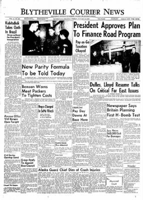 The Courier News from Blytheville, Arkansas on January 31, 1956 · Page 1