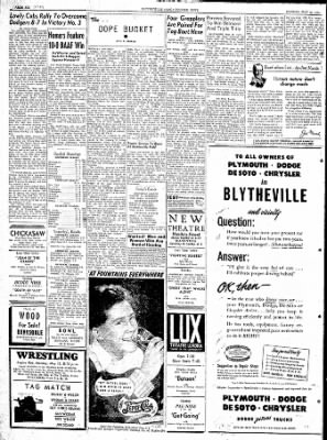 The Courier News from Blytheville, Arkansas on May 15, 1944 · Page 6