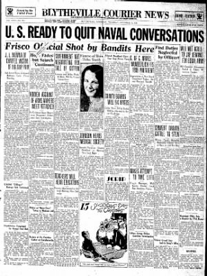 The Courier News from Blytheville, Arkansas on December 6, 1934 · Page 1