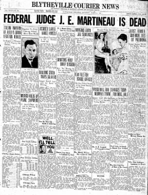 The Courier News from Blytheville, Arkansas on March 6, 1937 · Page 1