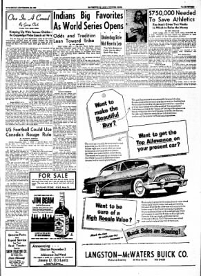 The Courier News from Blytheville, Arkansas on September 29, 1954 · Page 15