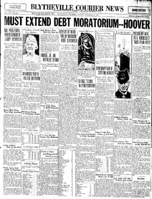 The Courier News from Blytheville, Arkansas on November 15, 1932 · Page 1