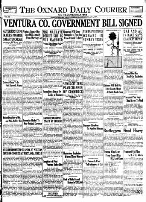 Press-Courier from Oxnard, California on May 14, 1927 · Page 1