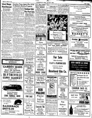 The Courier News from Blytheville, Arkansas on April 9, 1948 · Page 9