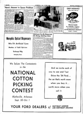 The Courier News from Blytheville, Arkansas on September 29, 1954 · Page 24