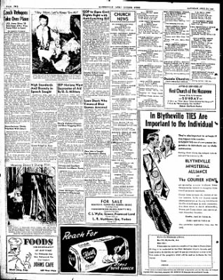 The Courier News from Blytheville, Arkansas on April 10, 1948 · Page 2