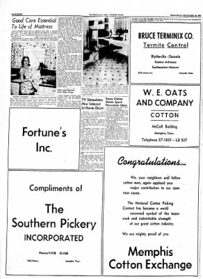 The Courier News from Blytheville, Arkansas on September 29, 1954 · Page 26