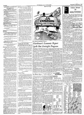 The Courier News from Blytheville, Arkansas on February 1, 1956 · Page 6