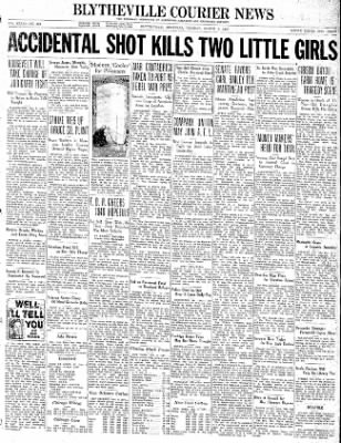The Courier News from Blytheville, Arkansas on March 9, 1937 · Page 1