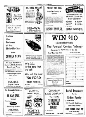 The Courier News from Blytheville, Arkansas on October 24, 1955 · Page 6