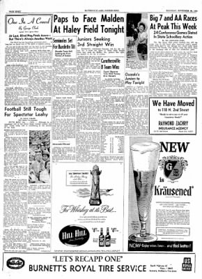 The Courier News from Blytheville, Arkansas on September 30, 1954 · Page 8