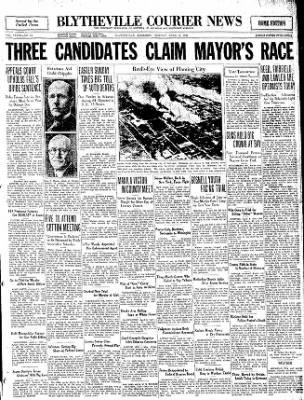 The Courier News from Blytheville, Arkansas on April 6, 1931 · Page 1
